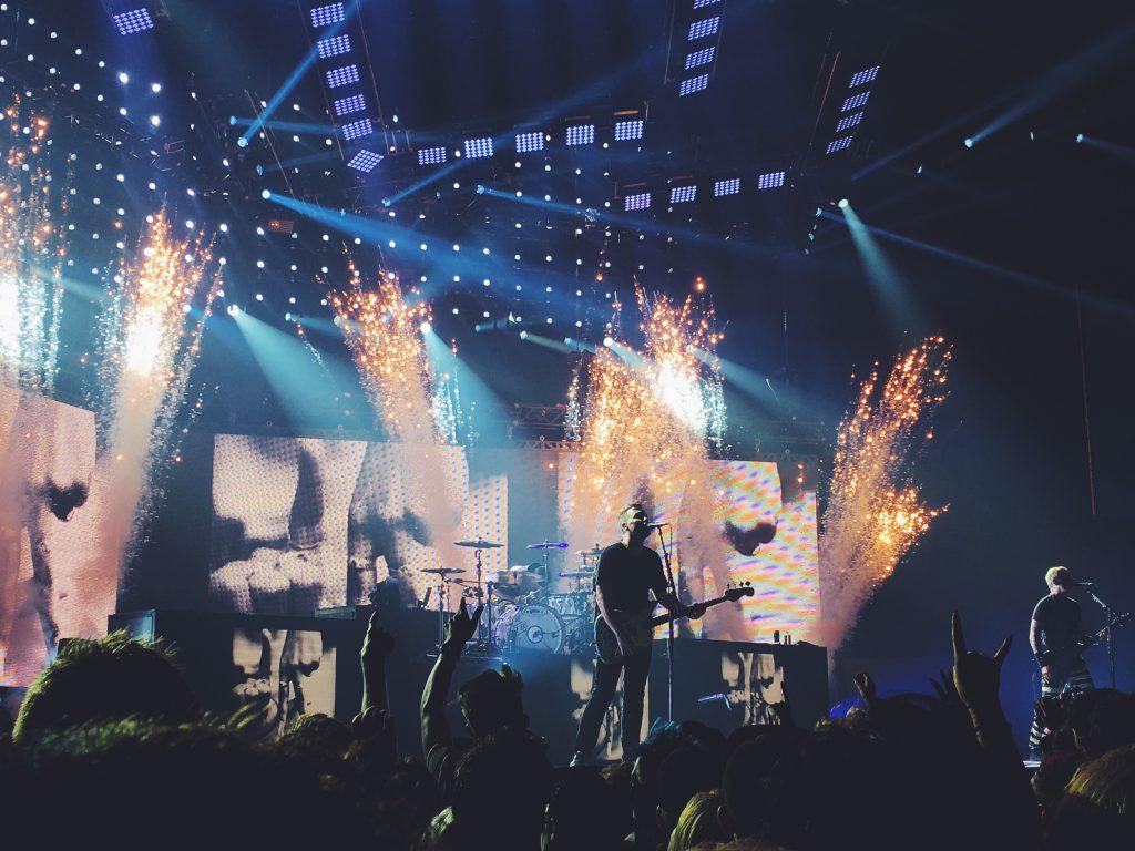 Blink 182 Birmingham Barclaycard Arena