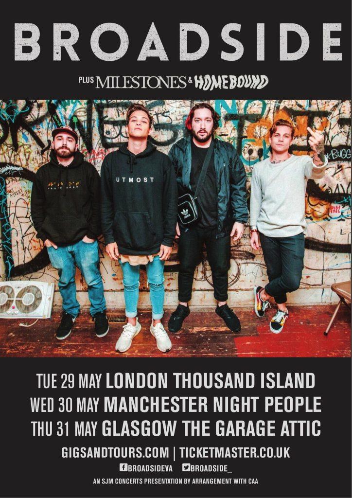 Broadside UK Tour